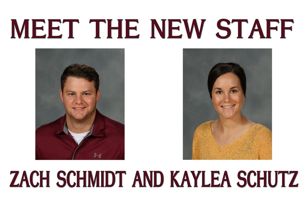 Meet the New Staff - Zach Schmidt and Kaylea Schutz