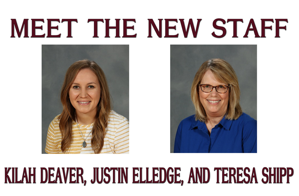 Meet the New Staff - Kilah Deaver, Justin Elledge, and Teresa Shipp