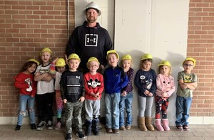 Preschool Class Studying About Construction