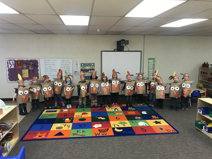 Preschool Turkeys
