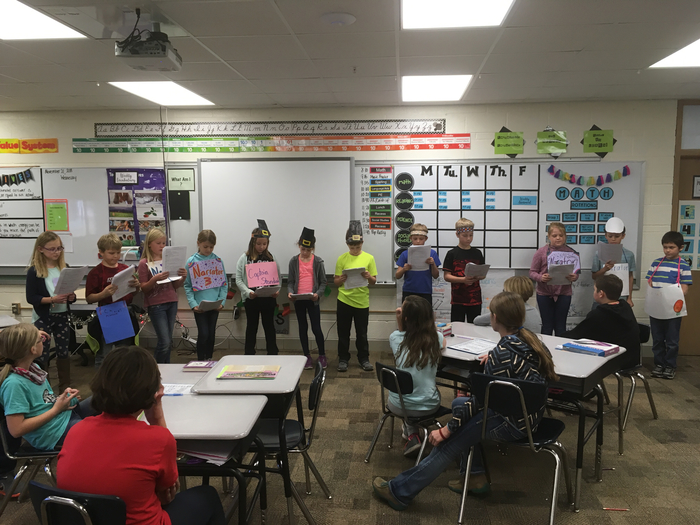 3rd grade readers theatre