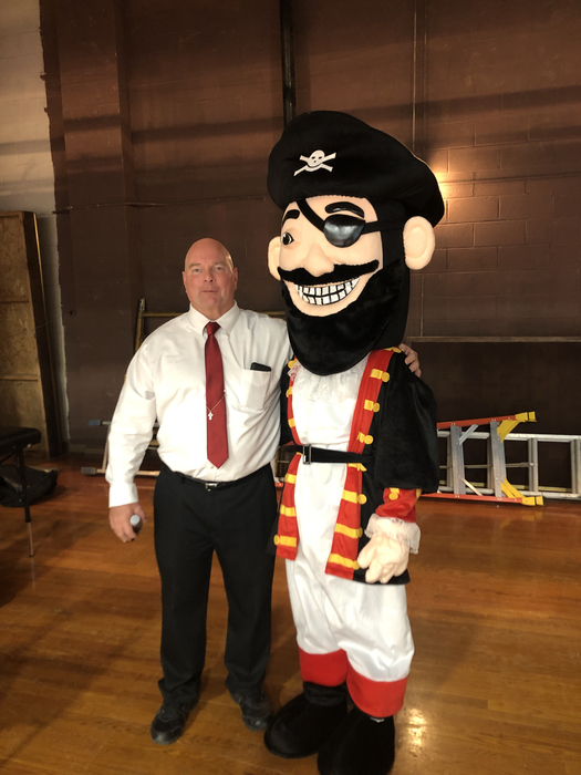 New pirate mascot