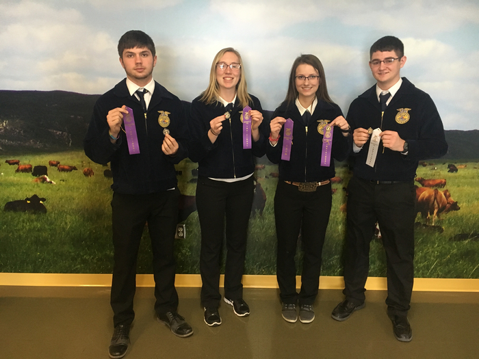 FBM- individual, Baylee D.- 2nd, Jaycee W.- 3rd, Zacob E. 4th, Ty S.- 20th