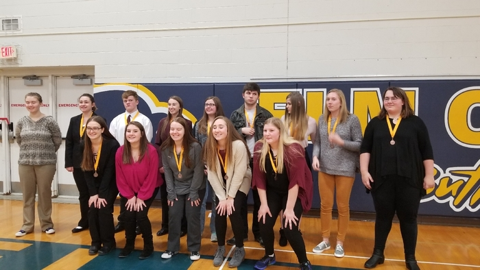 Elwood Speech Team at FKC