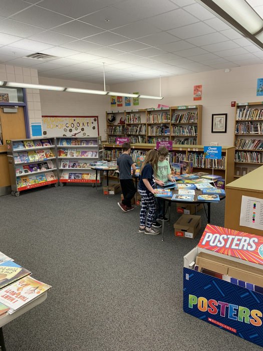Second Grade and the Book Fair