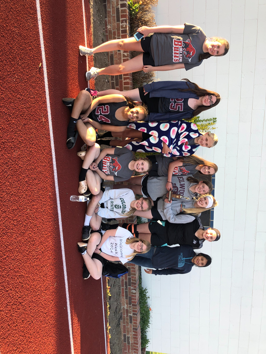 Hi-Line Girls Track Team