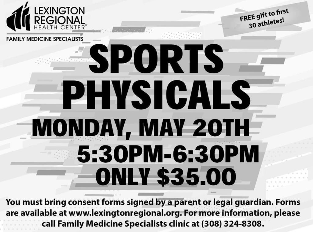2019-20 Sports Physicals Ad