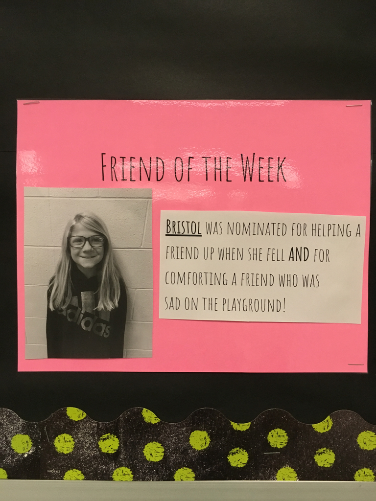Bristol-Friend of the Week