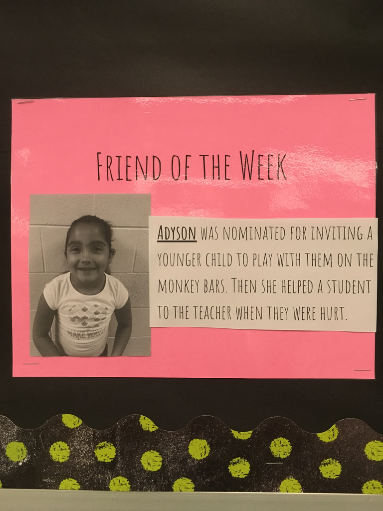 Adyson-Friend of the week