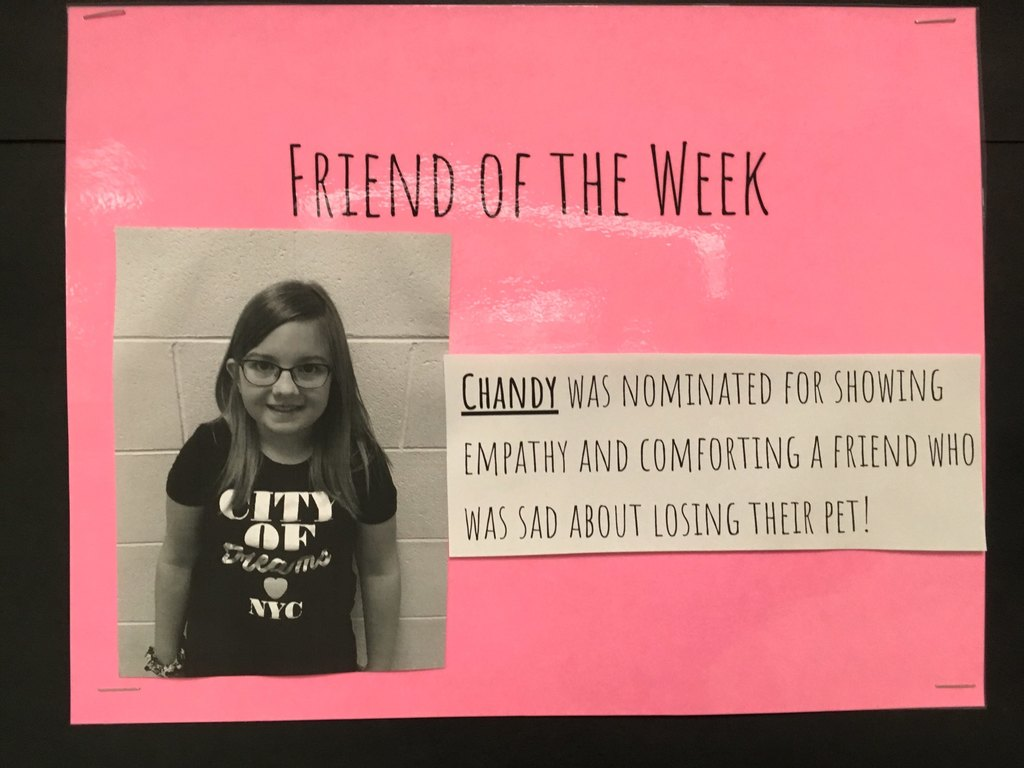 friend of the week-Chandy