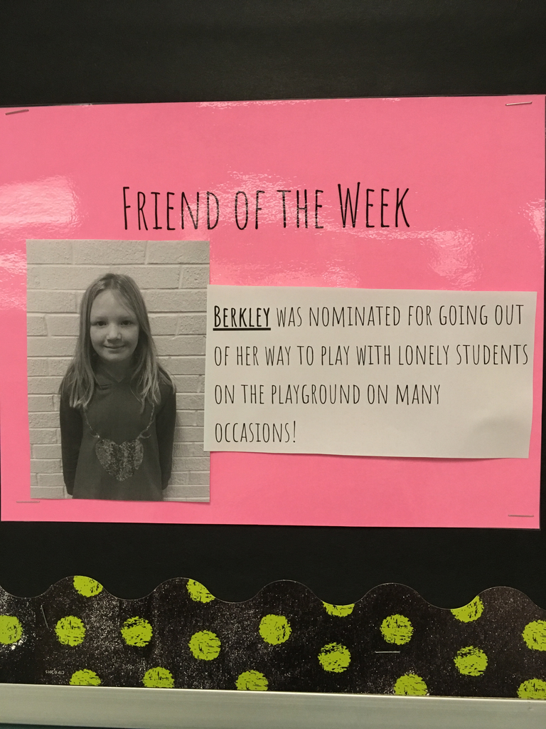 Friend of the week-Berkley
