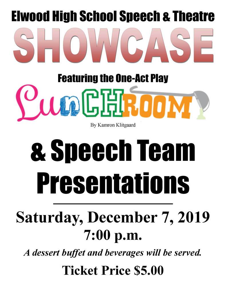 One act and speect event