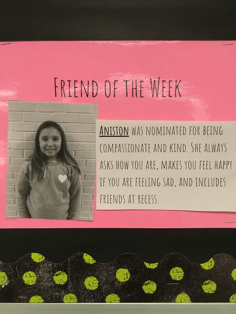 Friend of the week-Aniston