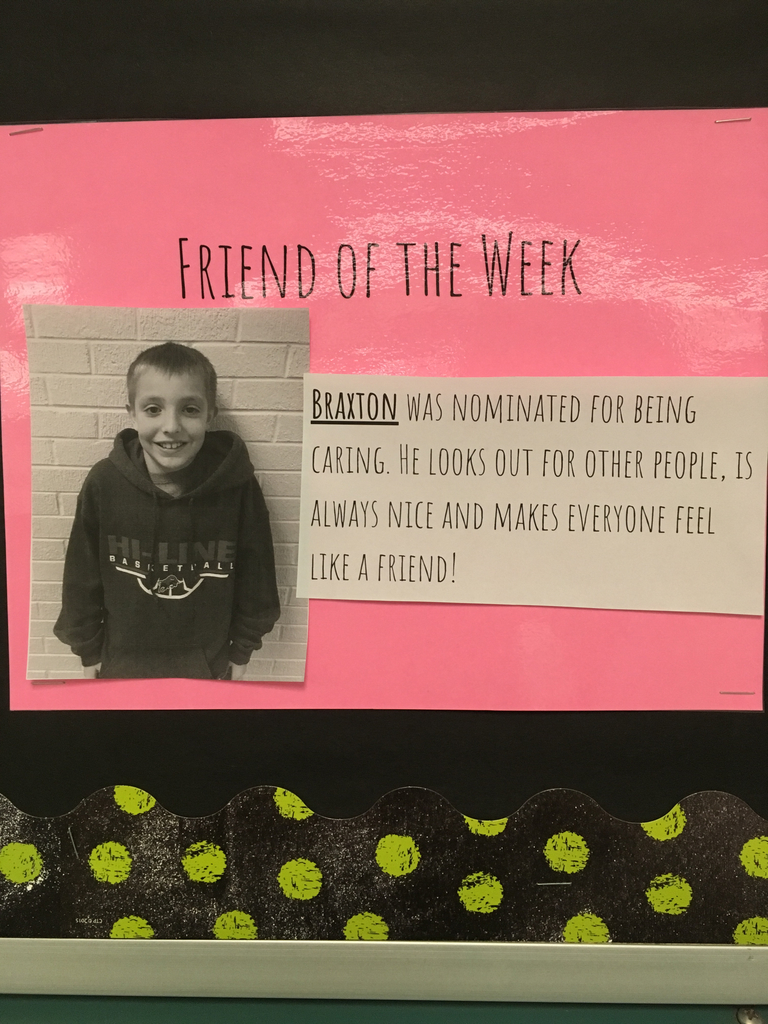 Friend of the week-Braxton