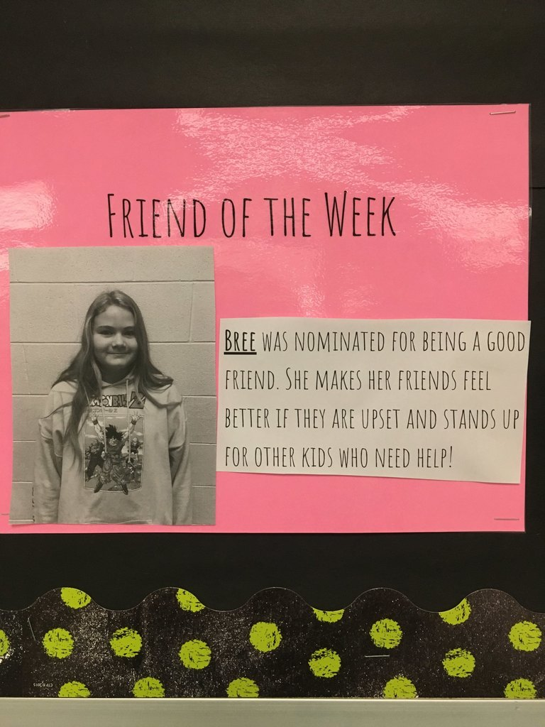 Friend of the week-Bree