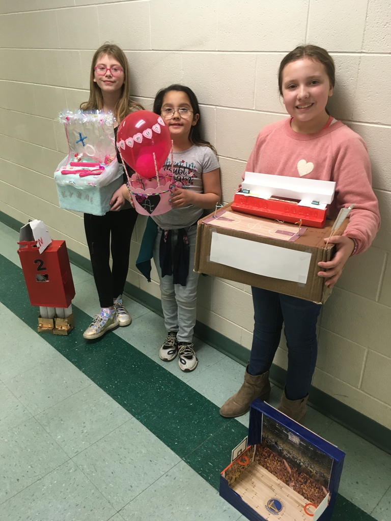 Valentine box winners