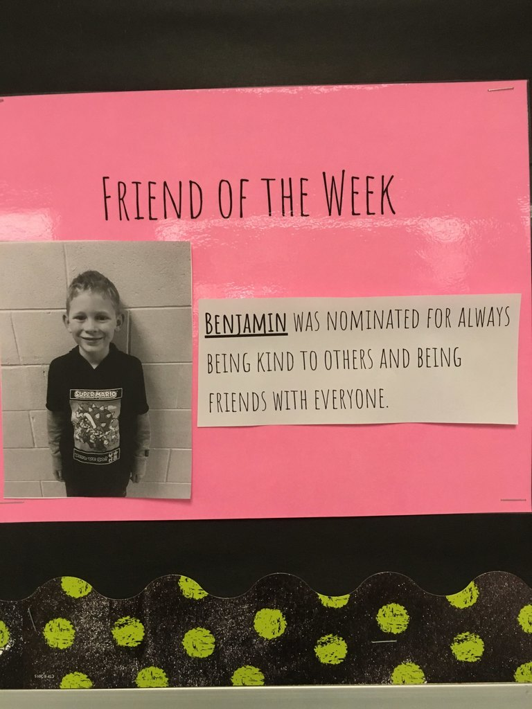 Friend of the week-Benjamin